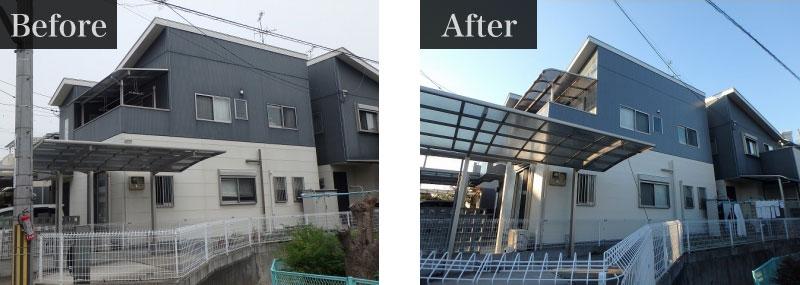 施工事例:外壁塗装費用 89万円