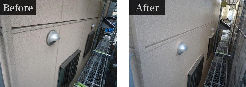 施工事例:外壁塗装費用 110万円