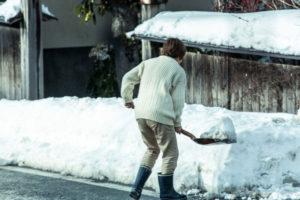 年末年始や雪の影響