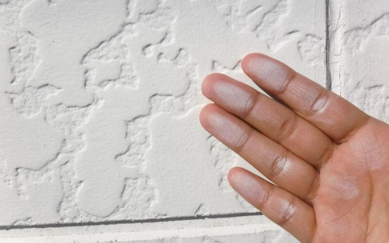 外壁塗装を長年しないと外壁材が劣化しはじめる