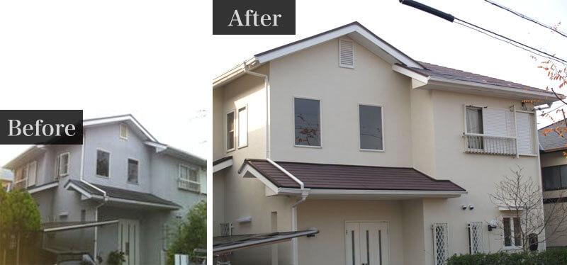 コーナンリフォーム外壁塗装の施工事例