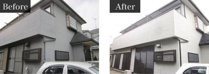 千葉県柏市外壁塗装施工事例