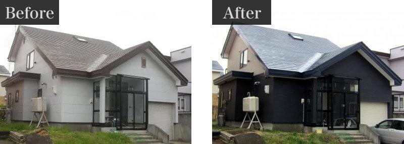 千葉県八千代市外壁塗装施工事例