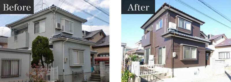東京都足立区外壁塗装施工事例